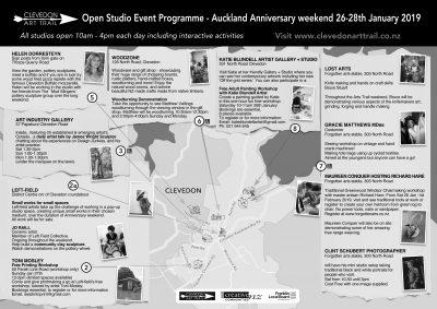 Clevedon Art Trail Open Studio Event 26-28 Jan 2019