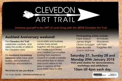 2018 Clevedon Art Trail Open Studio Event