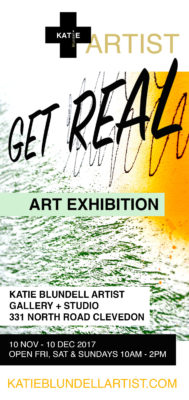 "I warmly invite you to my upcoming ""Get Real"" Exhibition"