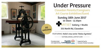 I warming invite you to the 'Under Pressure' Exhibition/Event