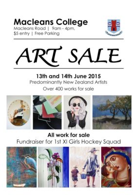 Macleans College Art Sale