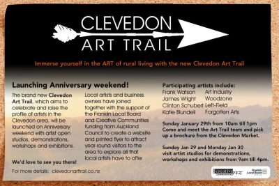 Clevedon Art Trail Launch
